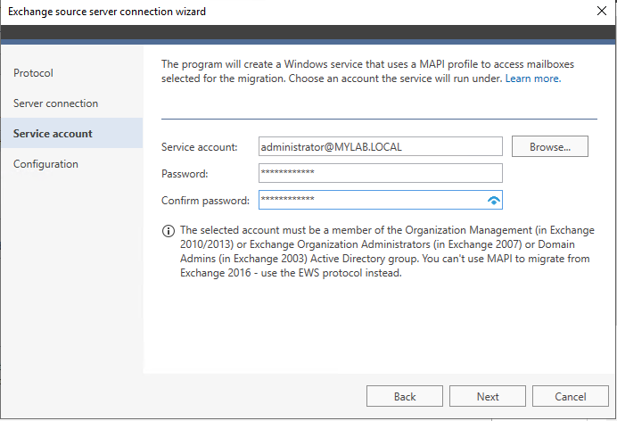 Migrate Exchange 2003 to Office 365