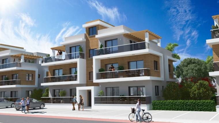 2+1 Iskele Long Beach Satılık Apartman Dairesi 1067