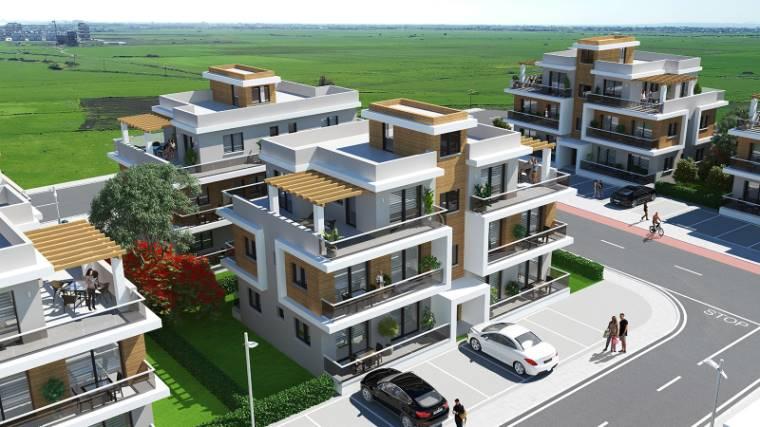 2+1 Iskele Long Beach Satılık Apartman Dairesi 1069