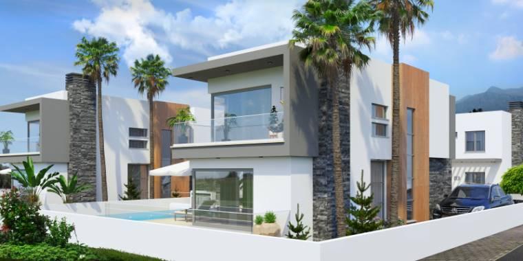 3+1 Girne Çatalköy Satılık Villa-Müstakil 1123