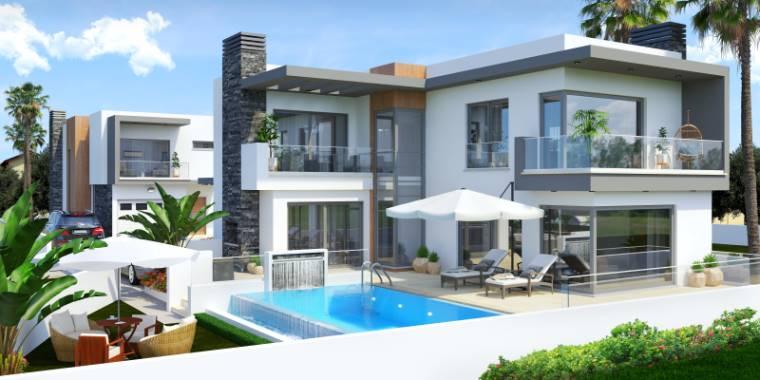 3+1 Girne Çatalköy Satılık Villa-Müstakil 1124