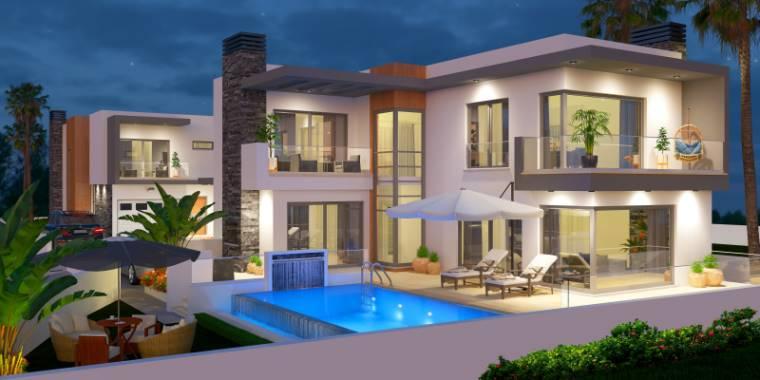 3+1 Girne Çatalköy Satılık Villa-Müstakil 1125