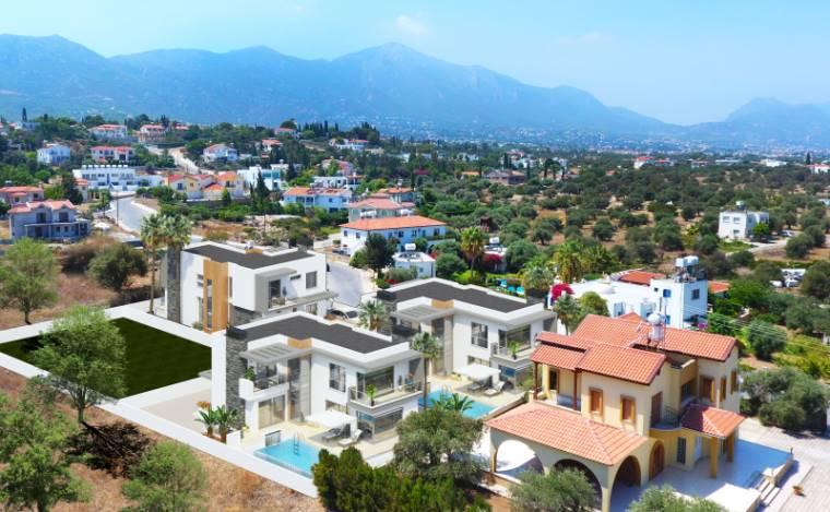 3+1 Girne Çatalköy Satılık Villa-Müstakil 1127