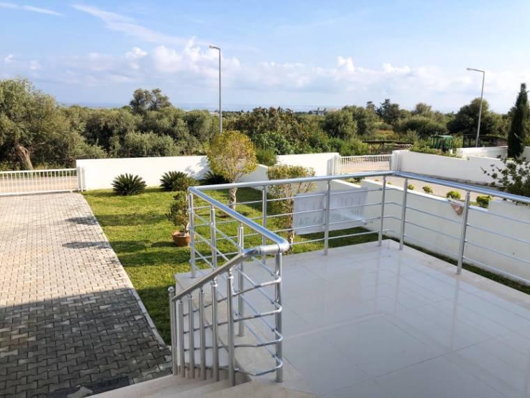 Kuzey Kıbrıs - Girne Karaoğlanoğlu Satılık Villa-Ikiz 2155