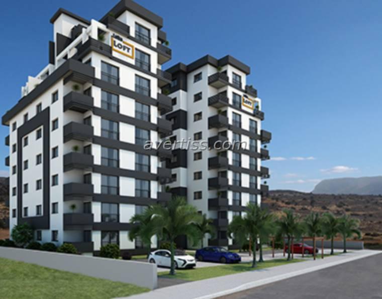 Kuzey Kıbrıs - Lefke Merkez Satılık Apartman Dairesi 2455