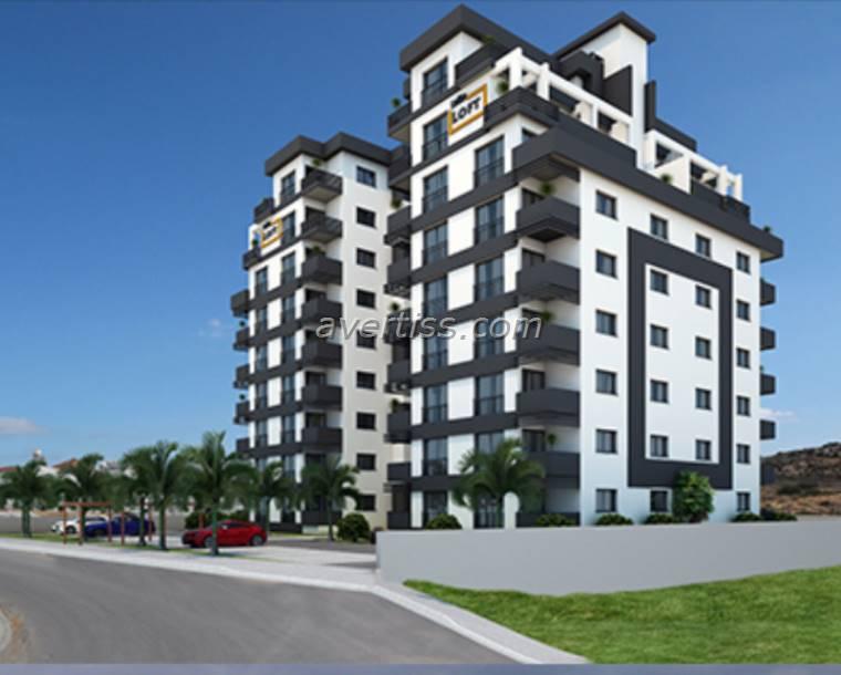 Kuzey Kıbrıs - Lefke Merkez Satılık Apartman Dairesi 2456