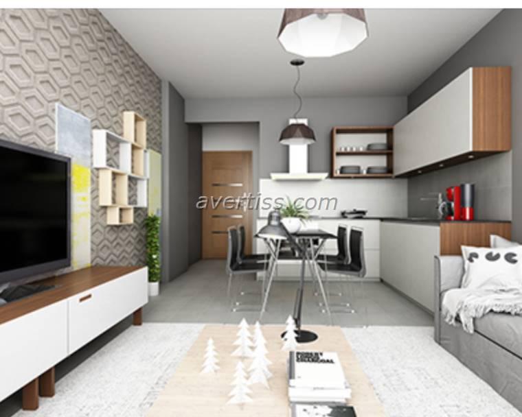 Kuzey Kıbrıs - Lefke Merkez Satılık Apartman Dairesi 2459