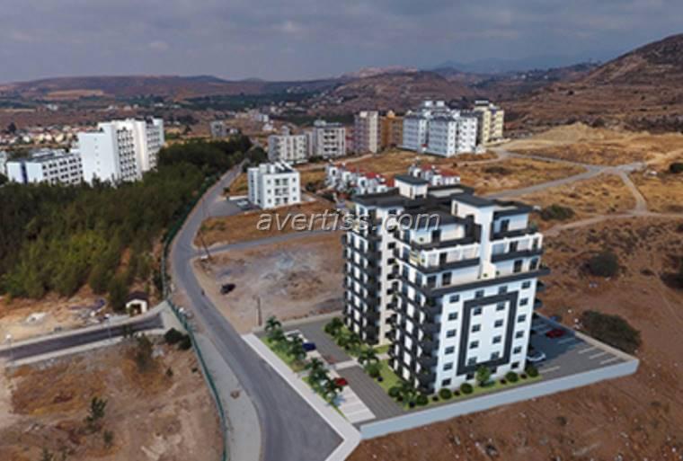 Kuzey Kıbrıs - Lefke Merkez Satılık Apartman Dairesi 2538