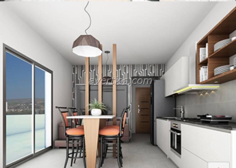 Kuzey Kıbrıs - Lefke Merkez Satılık Apartman Dairesi 2539