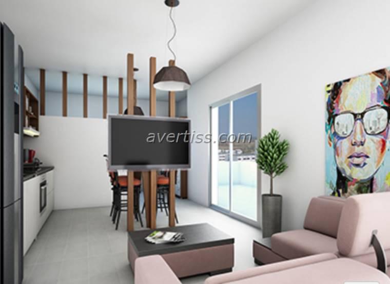 Kuzey Kıbrıs - Lefke Merkez Satılık Apartman Dairesi 2542