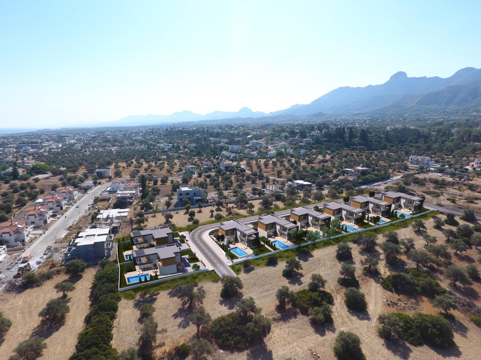 Dağ ve Deniz Manzaralı 4 Yatak Odalı Satılık Villalar 4721
