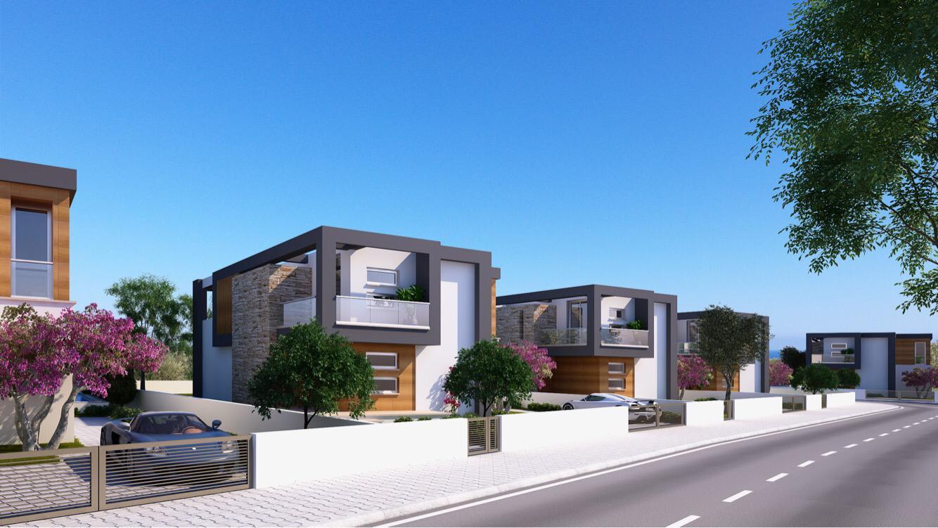 Dağ ve Deniz Manzaralı 4 Yatak Odalı Satılık Villalar 4732