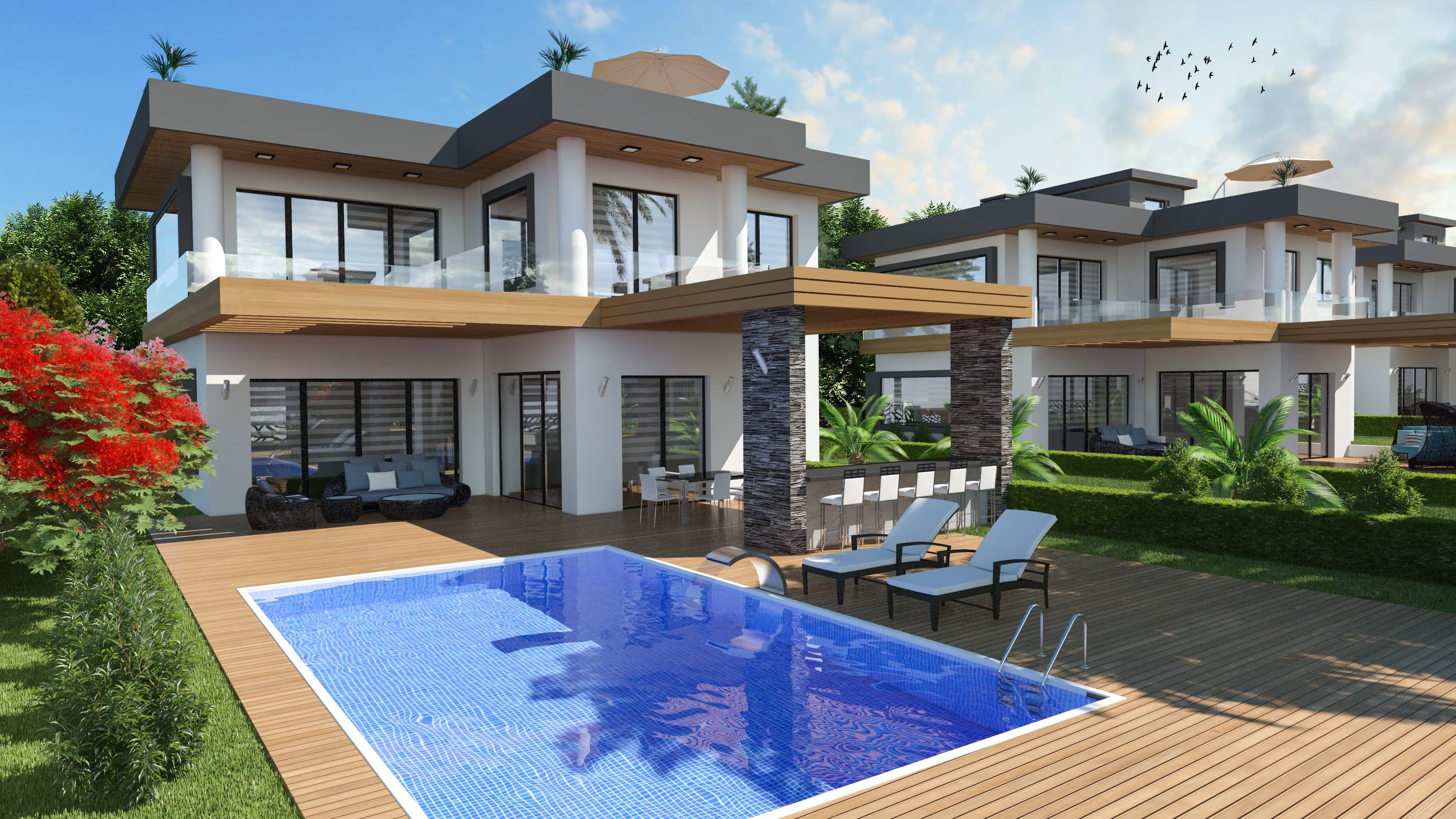 5 Yatak Odalı  Ciklos'ta Satılık Lüks Villa 5243