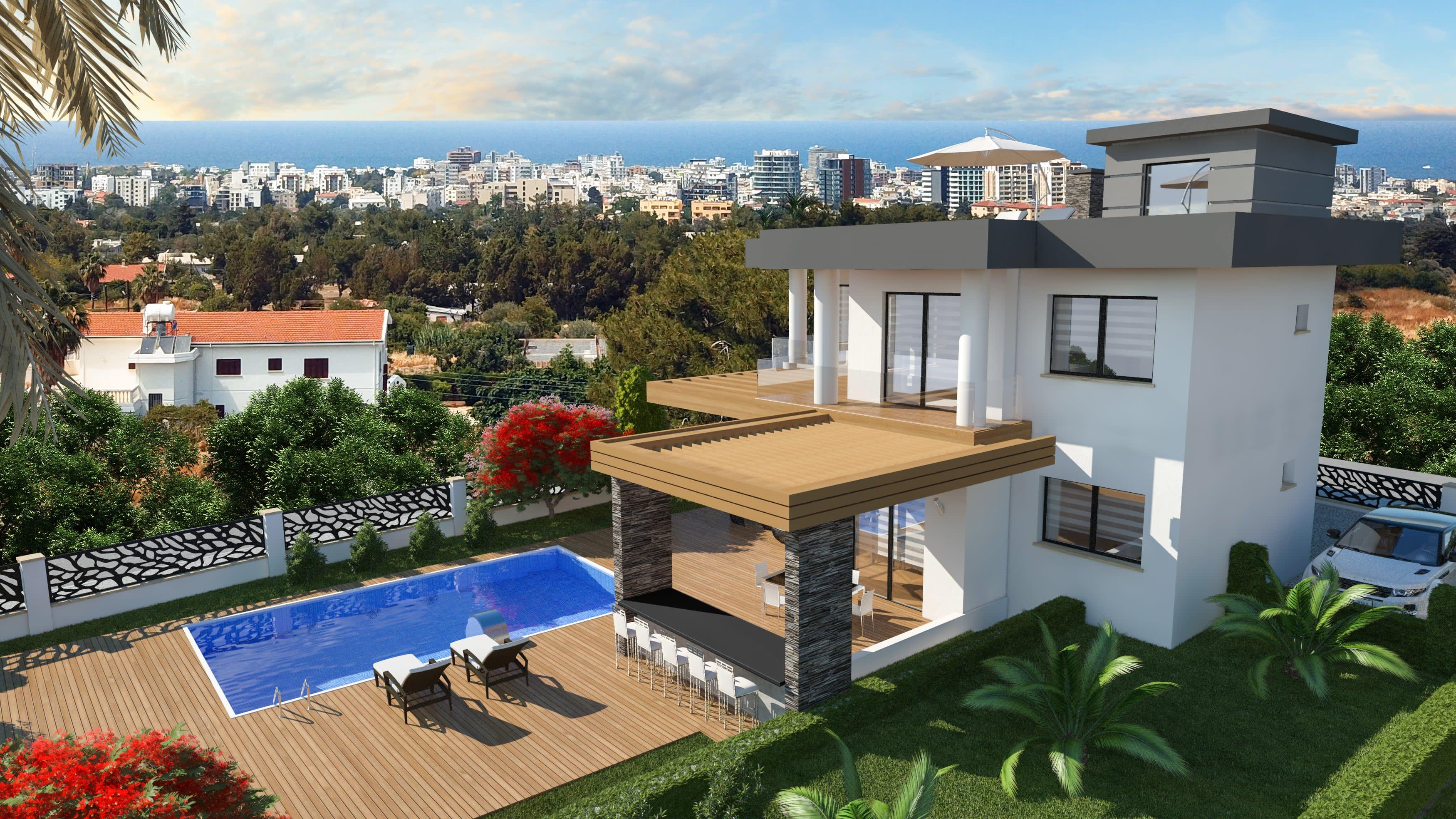 5 Yatak Odalı  Ciklos'ta Satılık Lüks Villa 5245