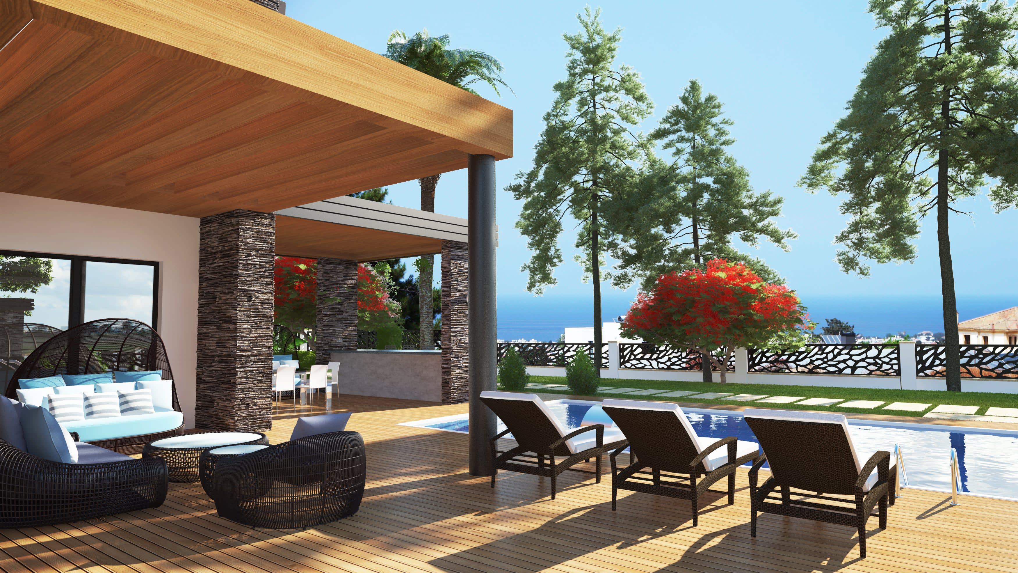 5 Yatak Odalı  Ciklos'ta Satılık Lüks Villa 5247