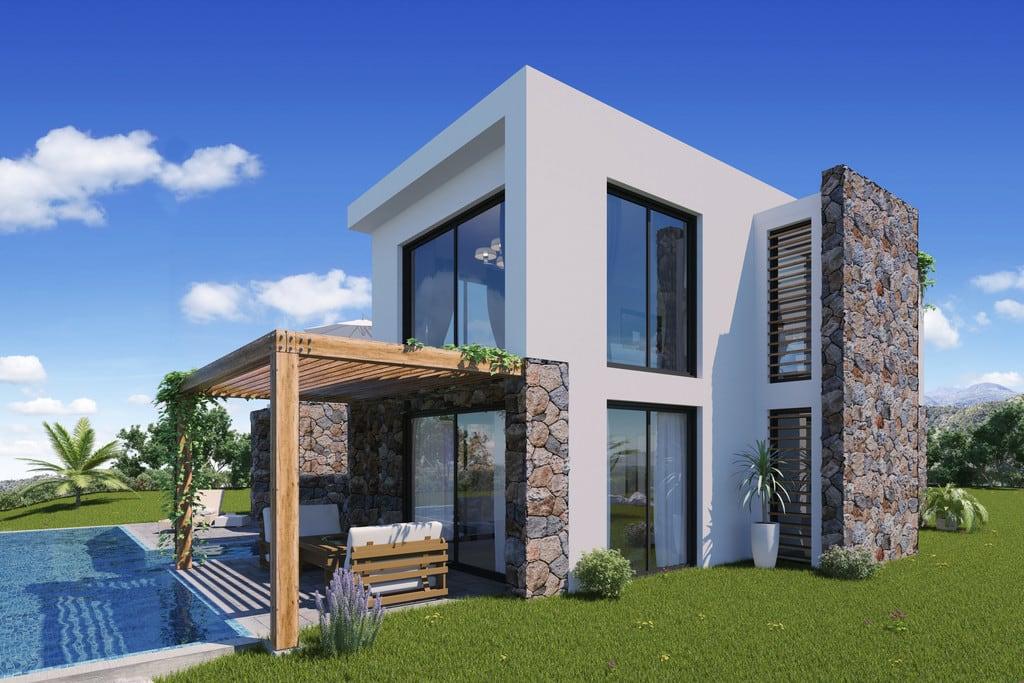 3 Yatak Odalı Alagadi'de Konumlandırılmış Havuzlu Satılık Villa 7008