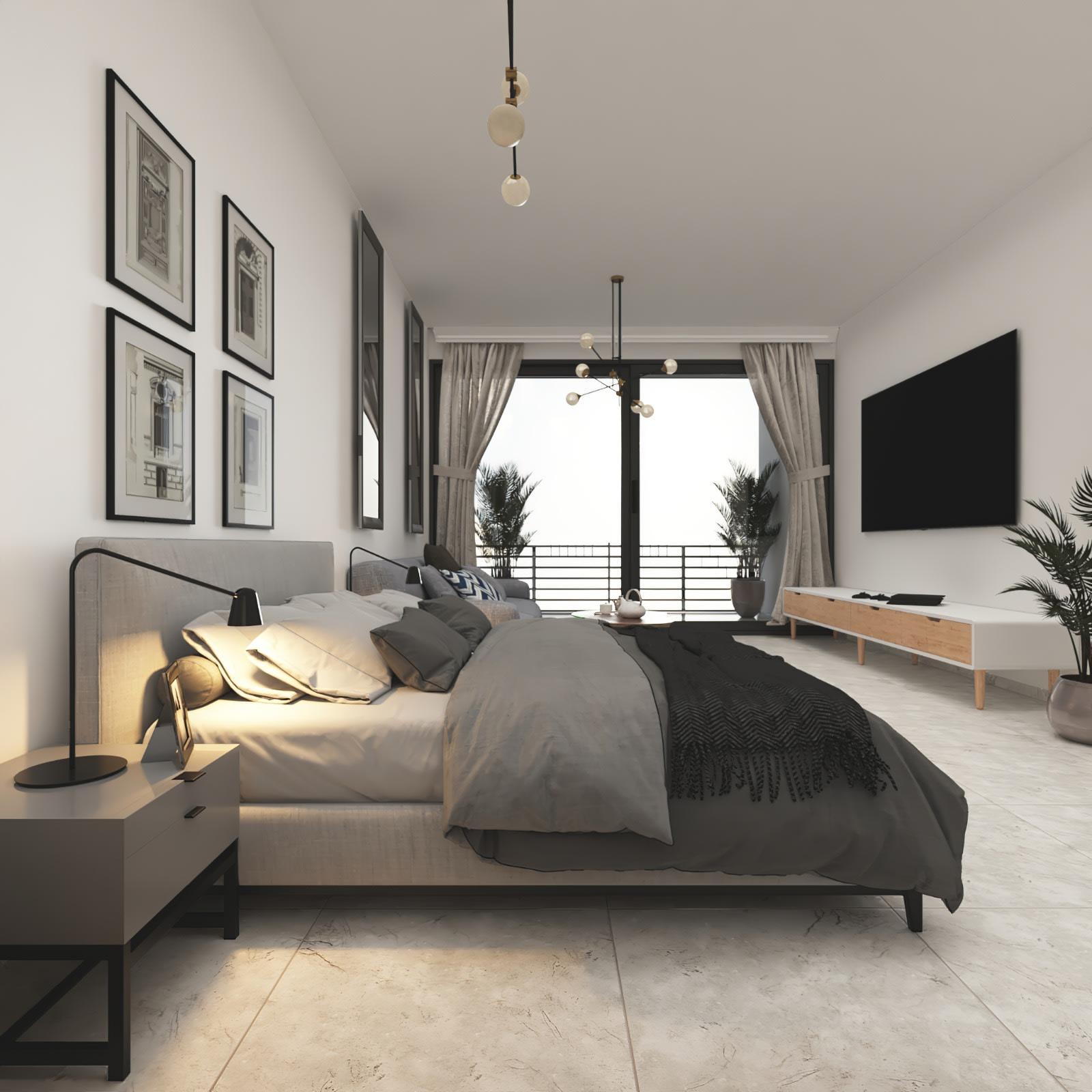 Esentepe'de Deniz ve Dağ Manzarlı Satılık Studio Daire 7066