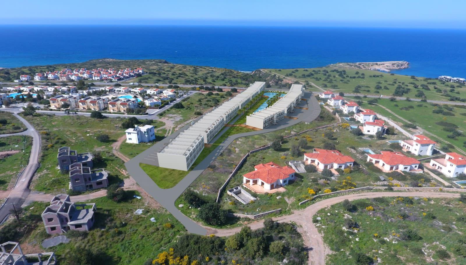 Esentepe'de Deniz ve Dağ Manzarlı Satılık Studio Daire 7070
