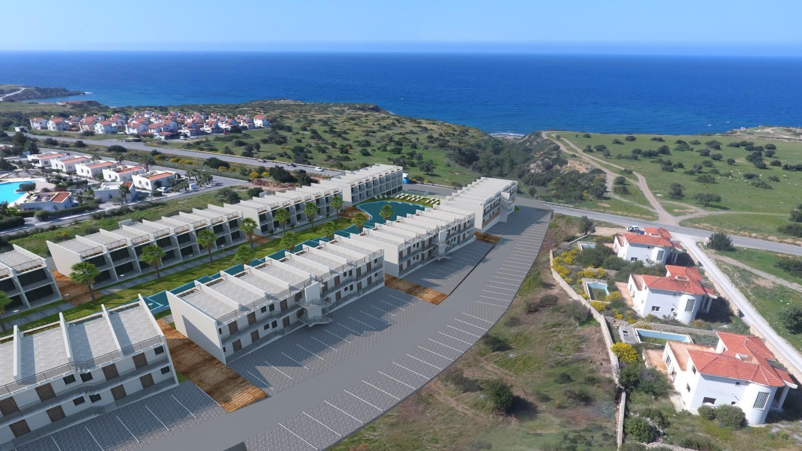 Esentepe'de Deniz ve Dağ Manzarlı Satılık Studio Daire 7077