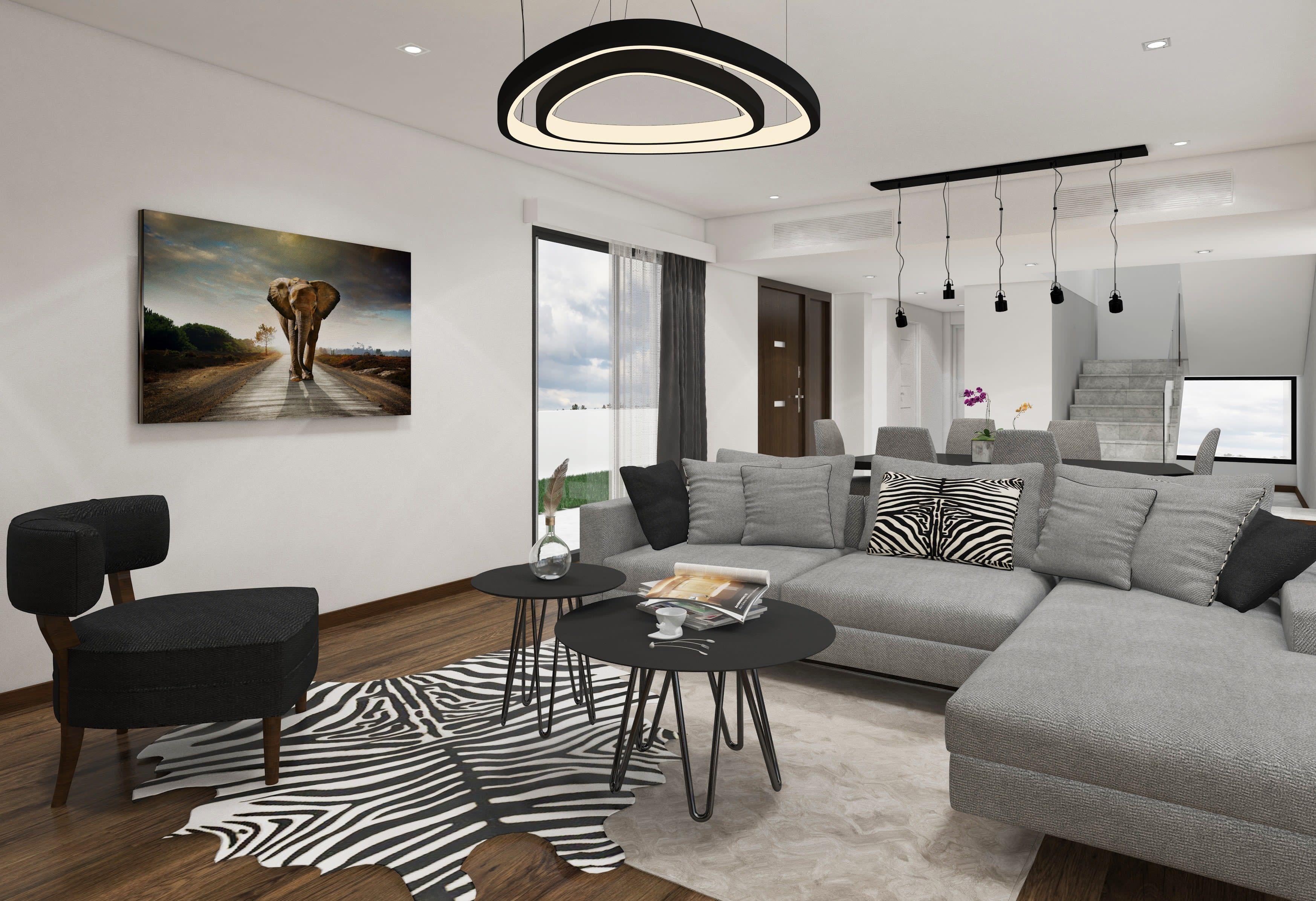 Çatalköy'de Satılık 4 Yatak Odalı ve Özel Havuzlu Lüks Villalar 7934