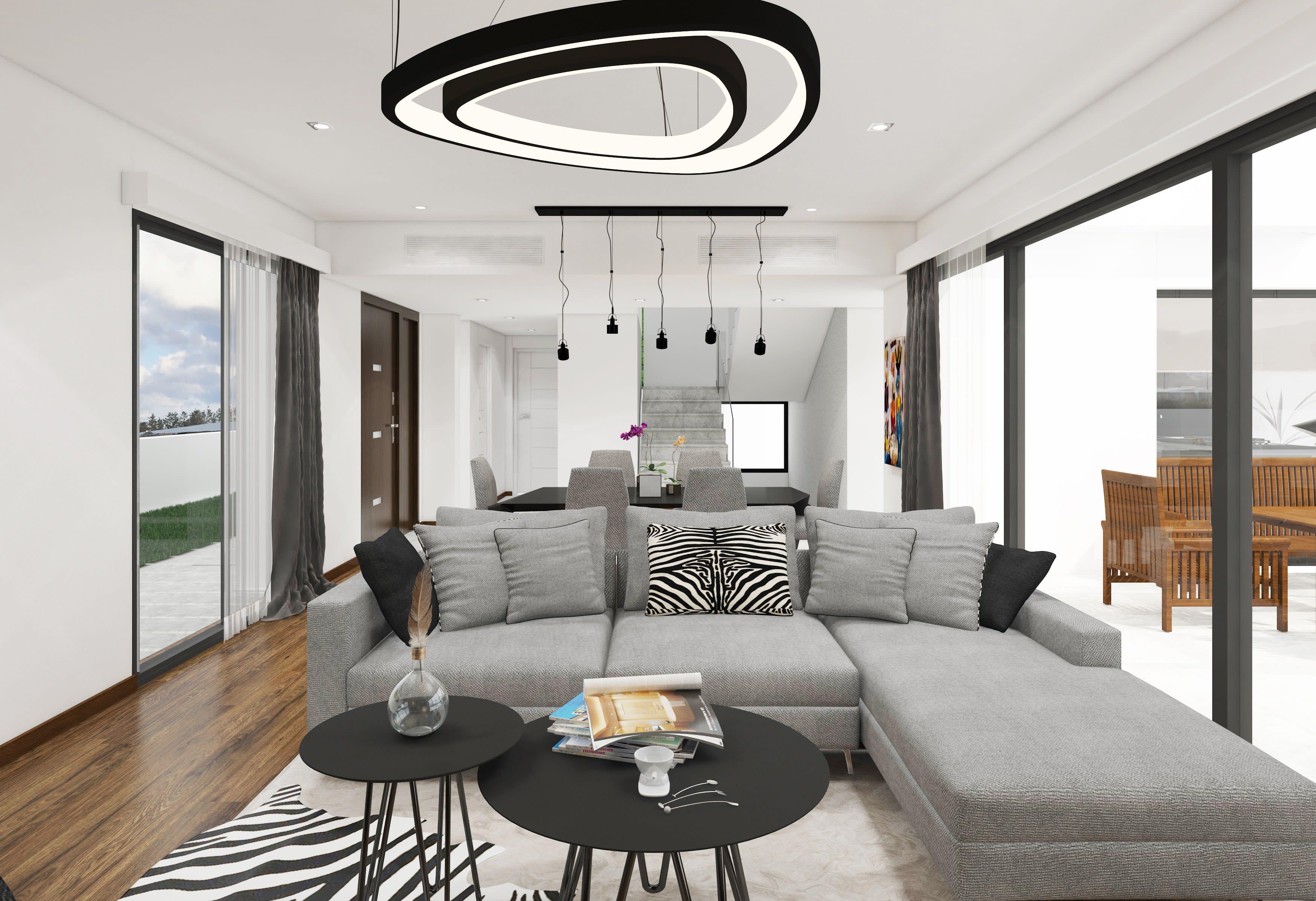 Çatalköy'de Satılık 4 Yatak Odalı ve Özel Havuzlu Lüks Villalar 7940