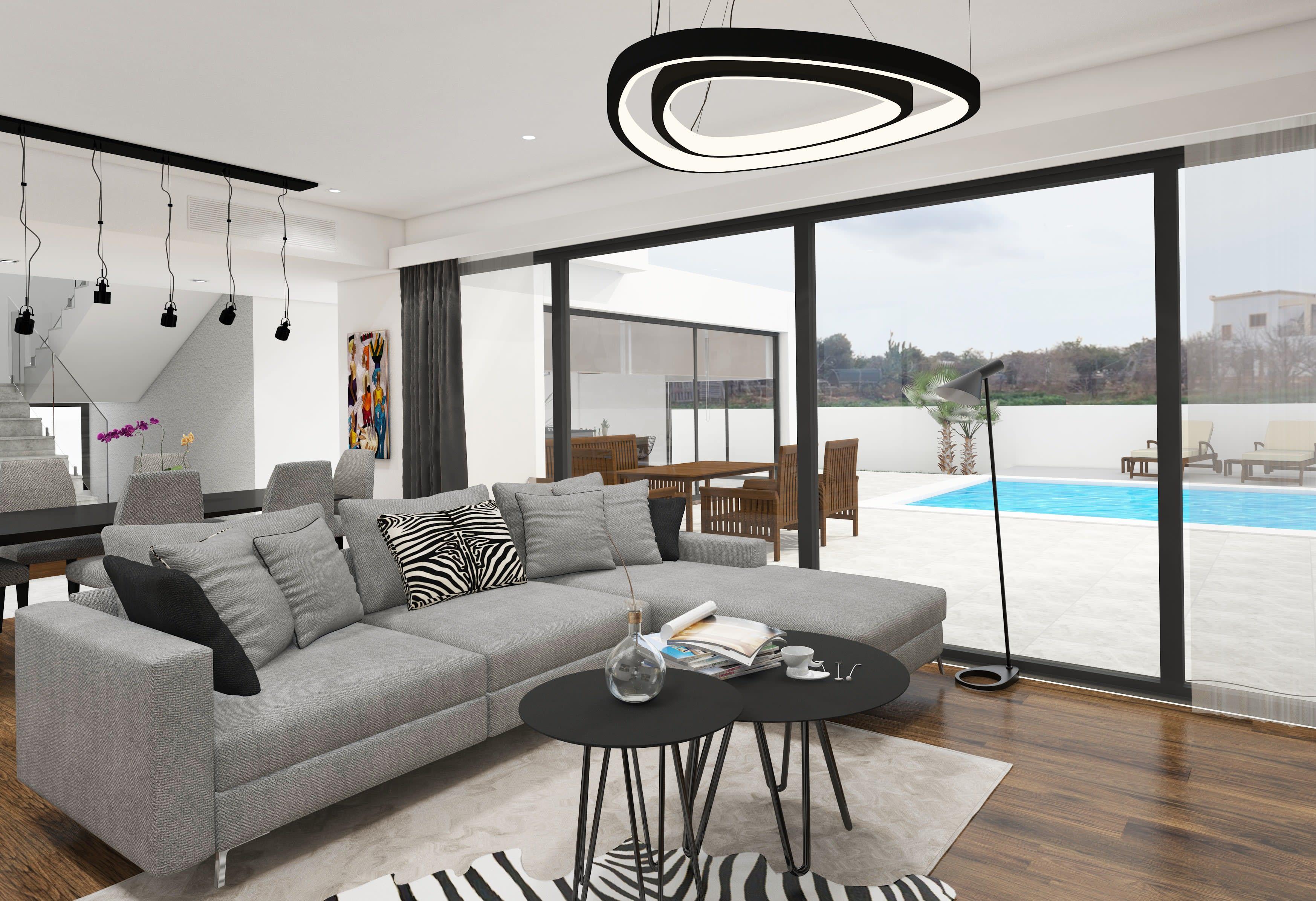 Çatalköy'de Satılık 4 Yatak Odalı ve Özel Havuzlu Lüks Villalar 7941