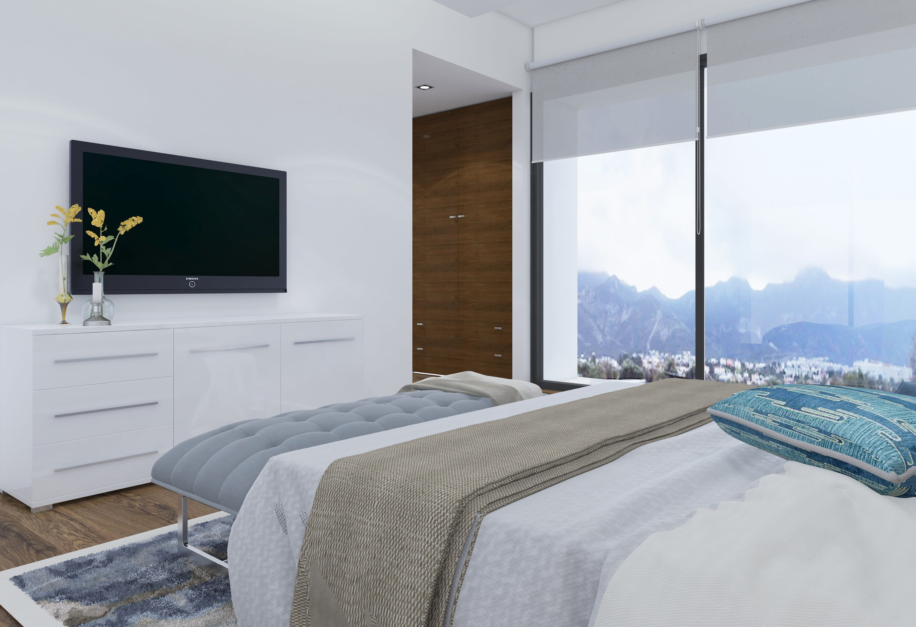 Çatalköy'de Satılık 4 Yatak Odalı ve Özel Havuzlu Lüks Villalar 7943