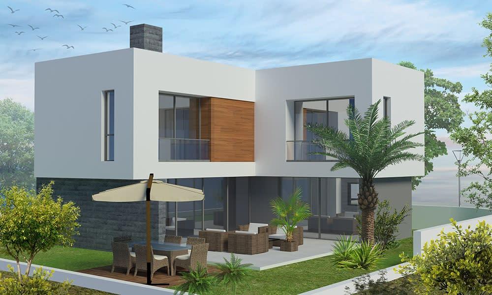 Çatalköy'de Satılık 4 Yatak Odalı ve Özel Havuzlu Lüks Villalar 7971