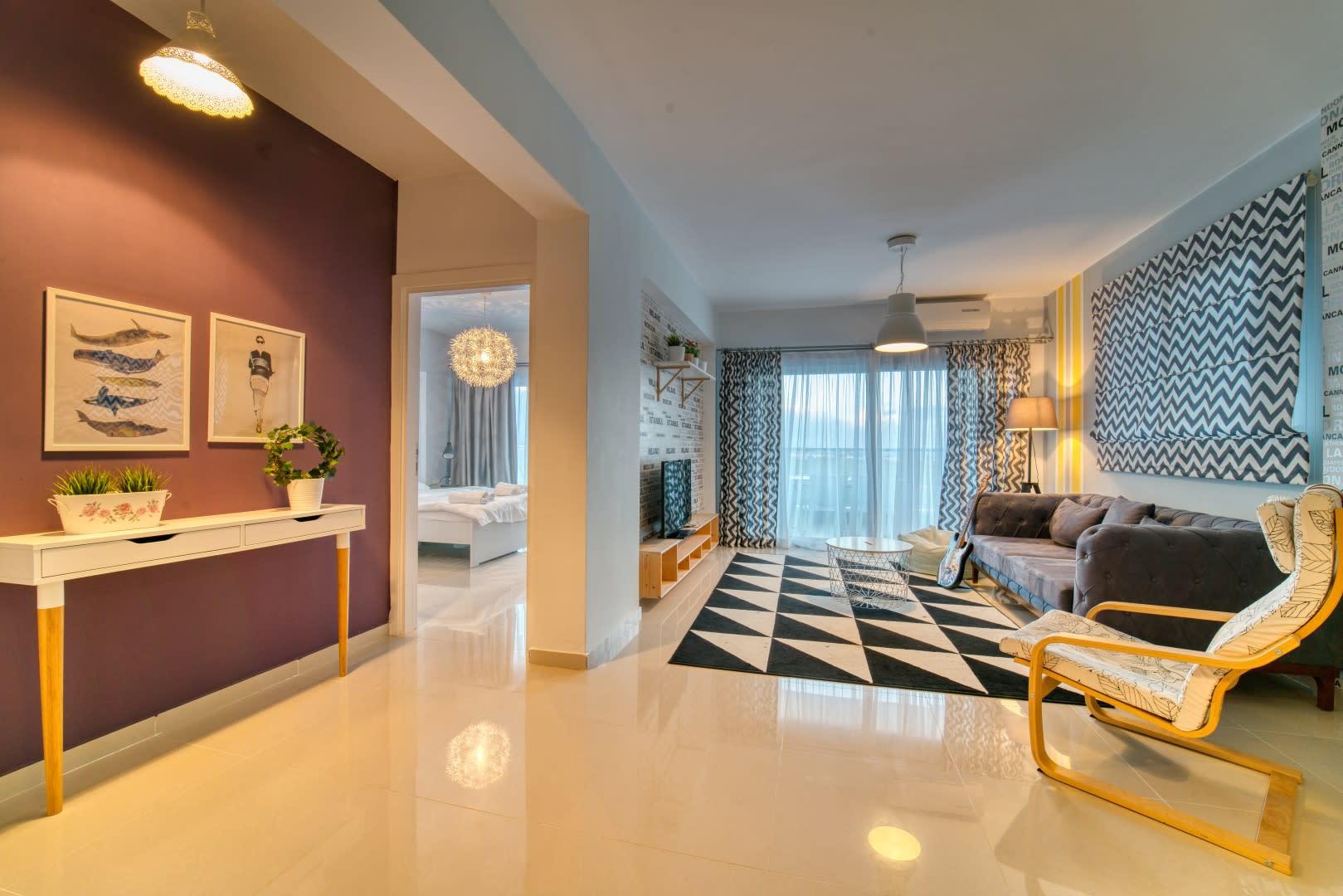 Long Beach İskele'de Lüks Rezidans'ta Satılık 3+1 Penthouse 8050