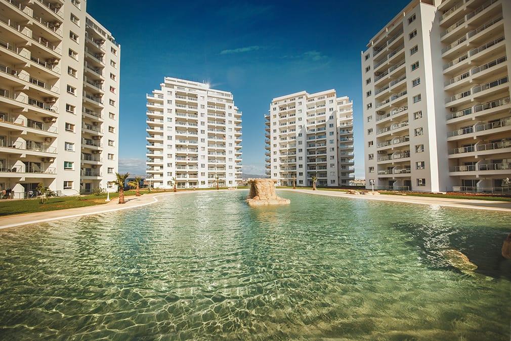 Long Beach İskele'de Lüks Rezidans'ta Satılık 3+1 Penthouse 8055