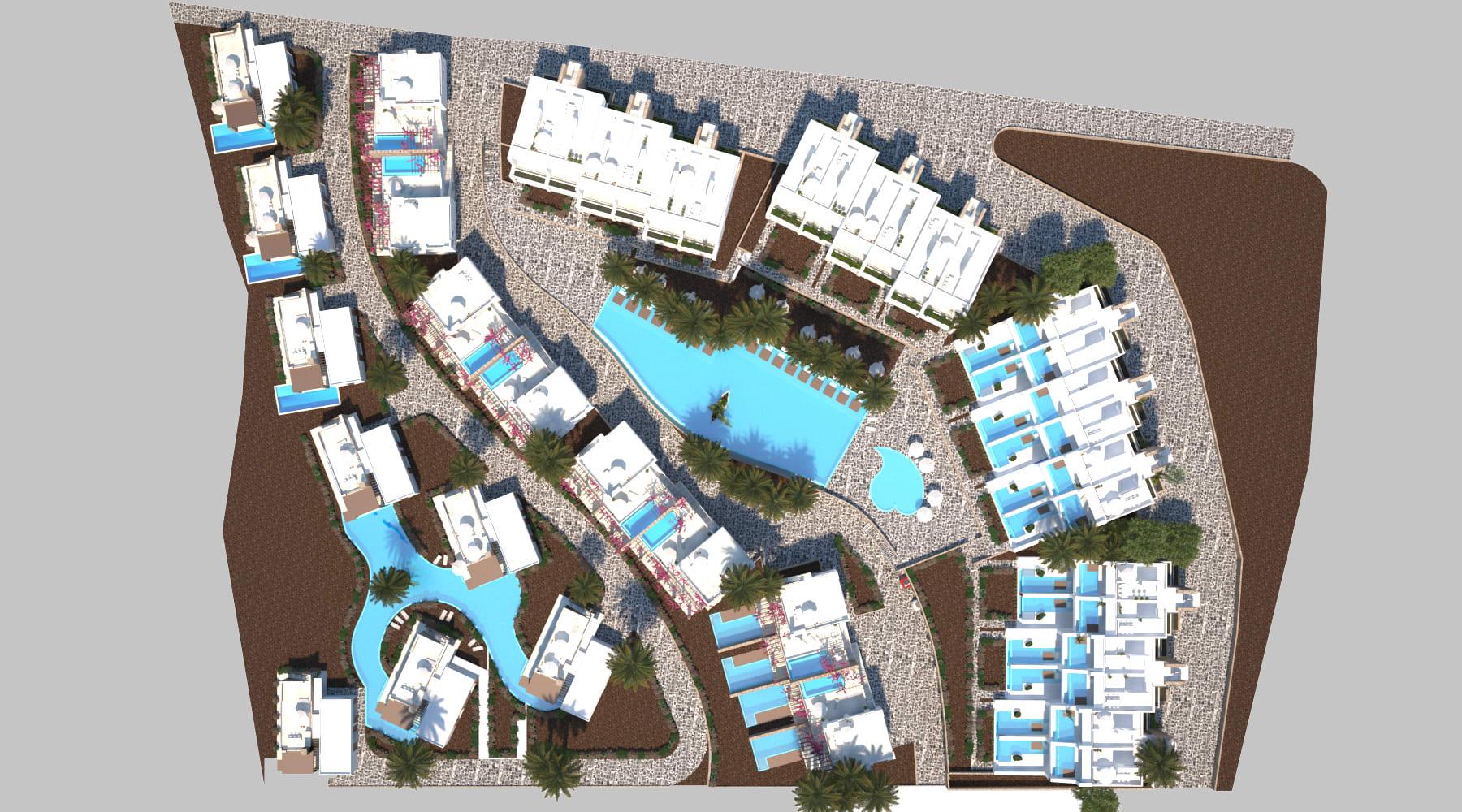 Esentepe'de Marina Üzerinde Satılık 3+1 ve Özel Havuzlu Villalar 8397