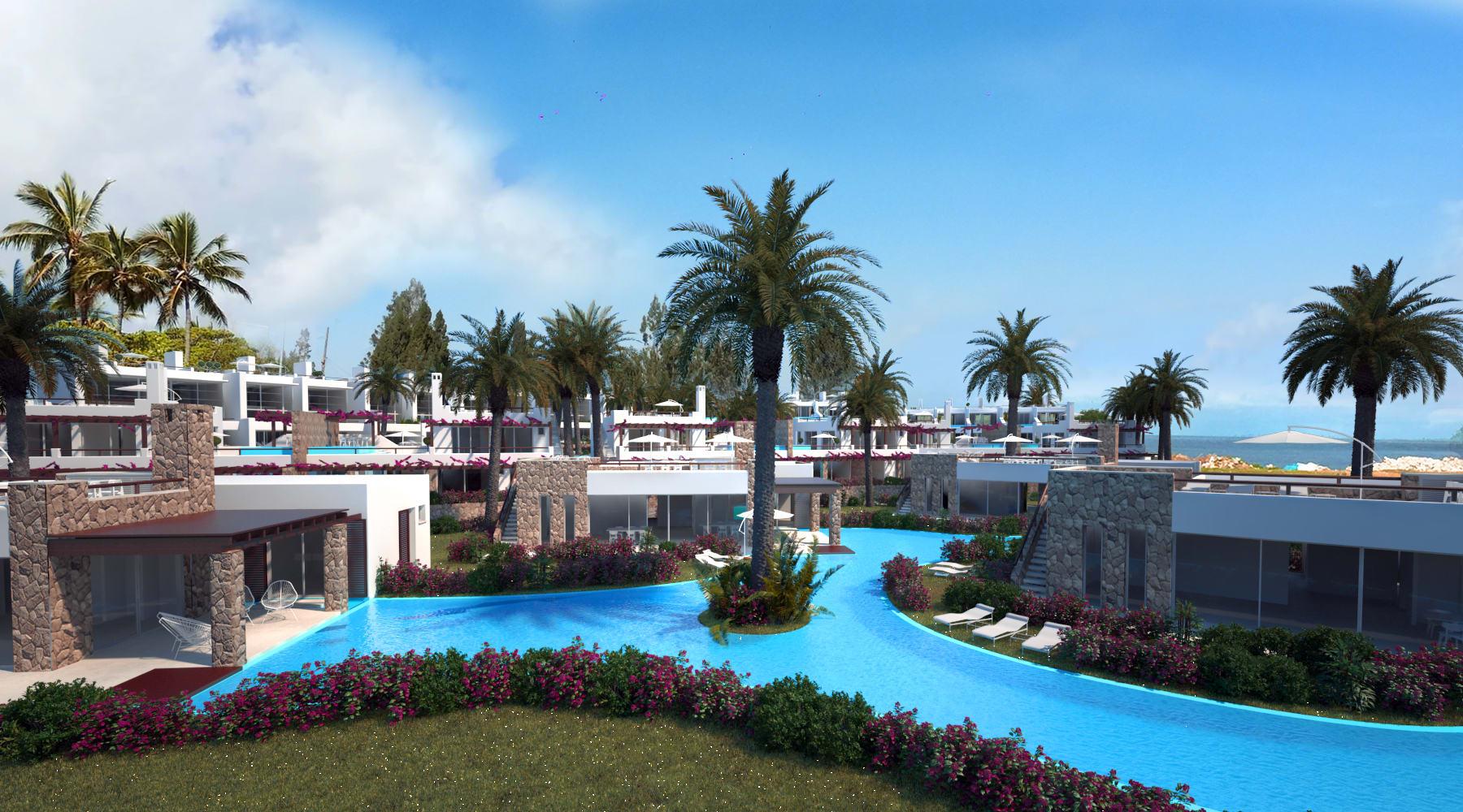 Esentepe'de Marina Üzerinde Satılık 3+1 ve Özel Havuzlu Villalar 8419