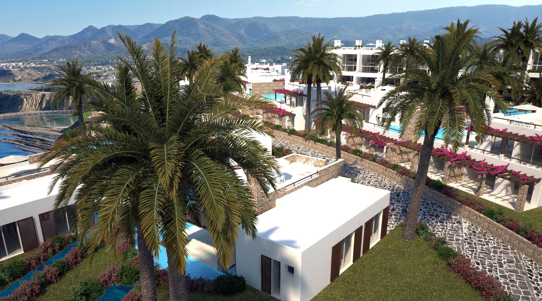 Esentepe'de Marina Üzerinde Satılık 3+1 ve Özel Havuzlu Villalar 8418