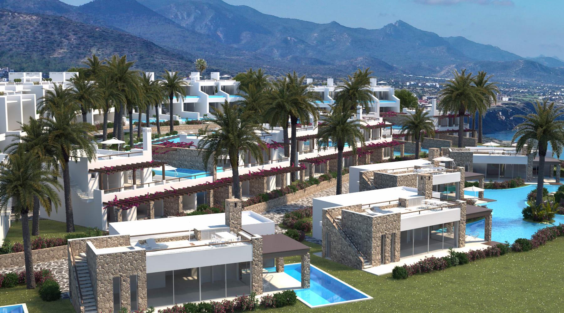 Esentepe'de Marina Üzerinde Satılık 3+1 ve Özel Havuzlu Villalar 8420