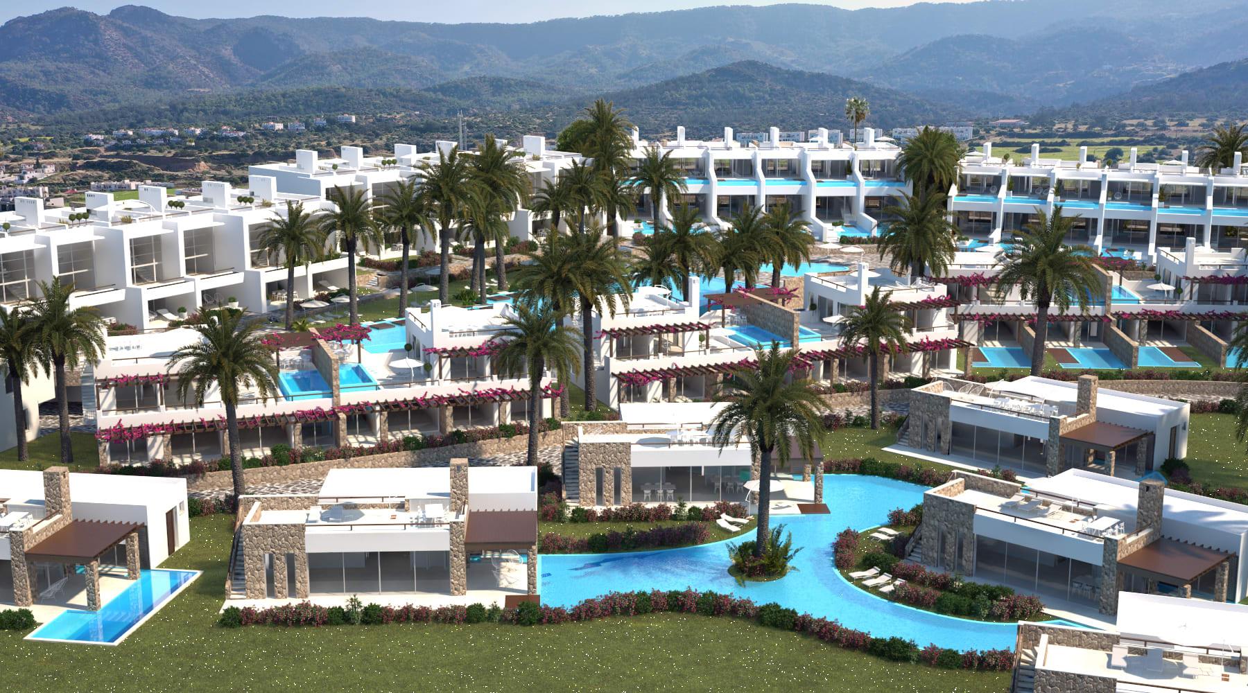 Esentepe'de Marina Üzerinde Satılık 3+1 ve Özel Havuzlu Villalar 8421