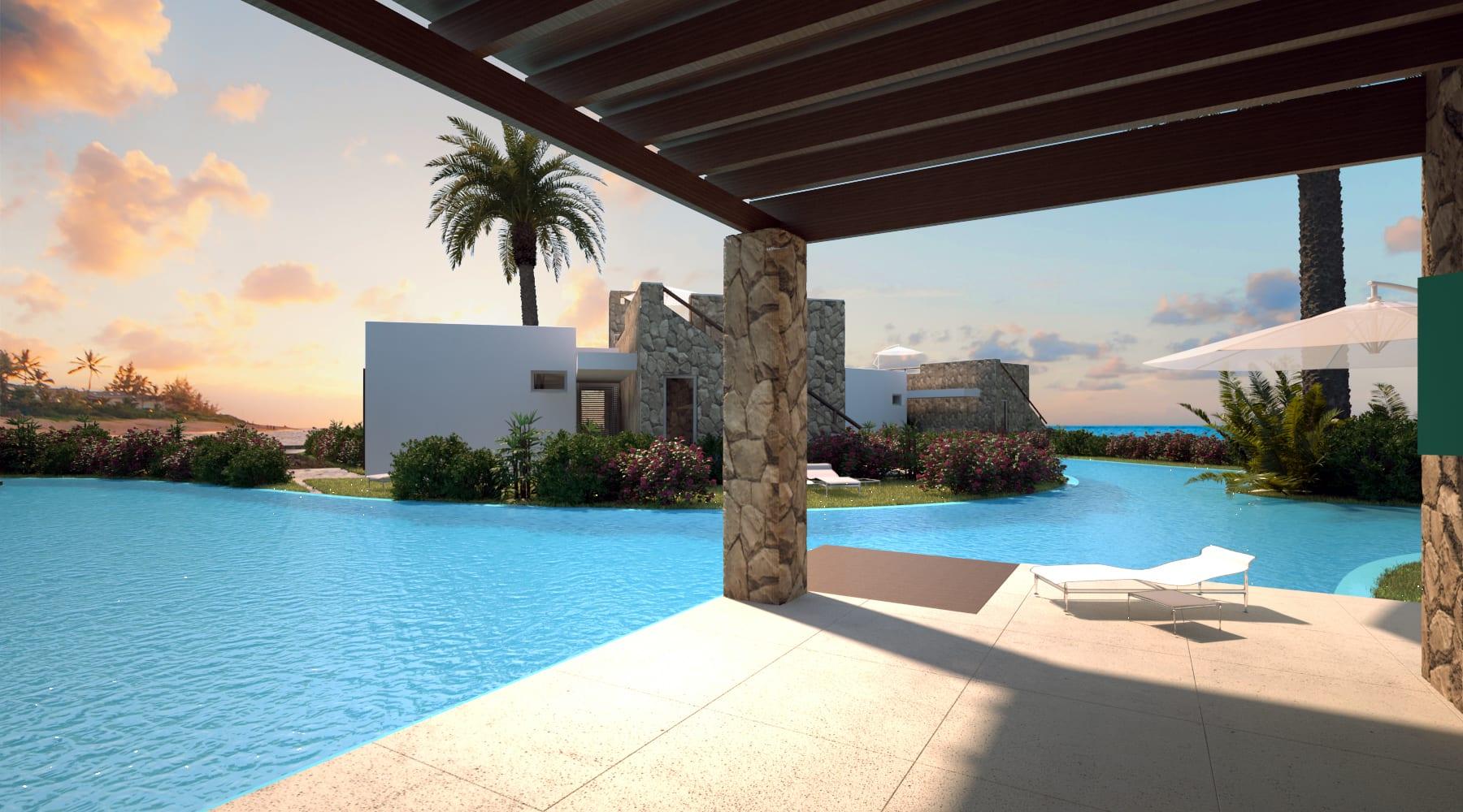 Esentepe'de Marina Üzerinde Satılık 3+1 ve Özel Havuzlu Villalar 8423