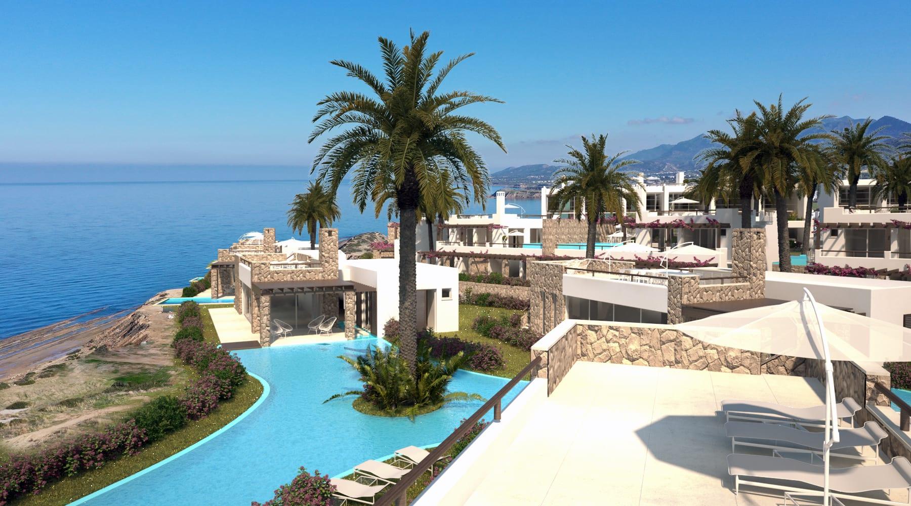 Esentepe'de Marina Üzerinde Satılık 3+1 ve Özel Havuzlu Villalar 8430