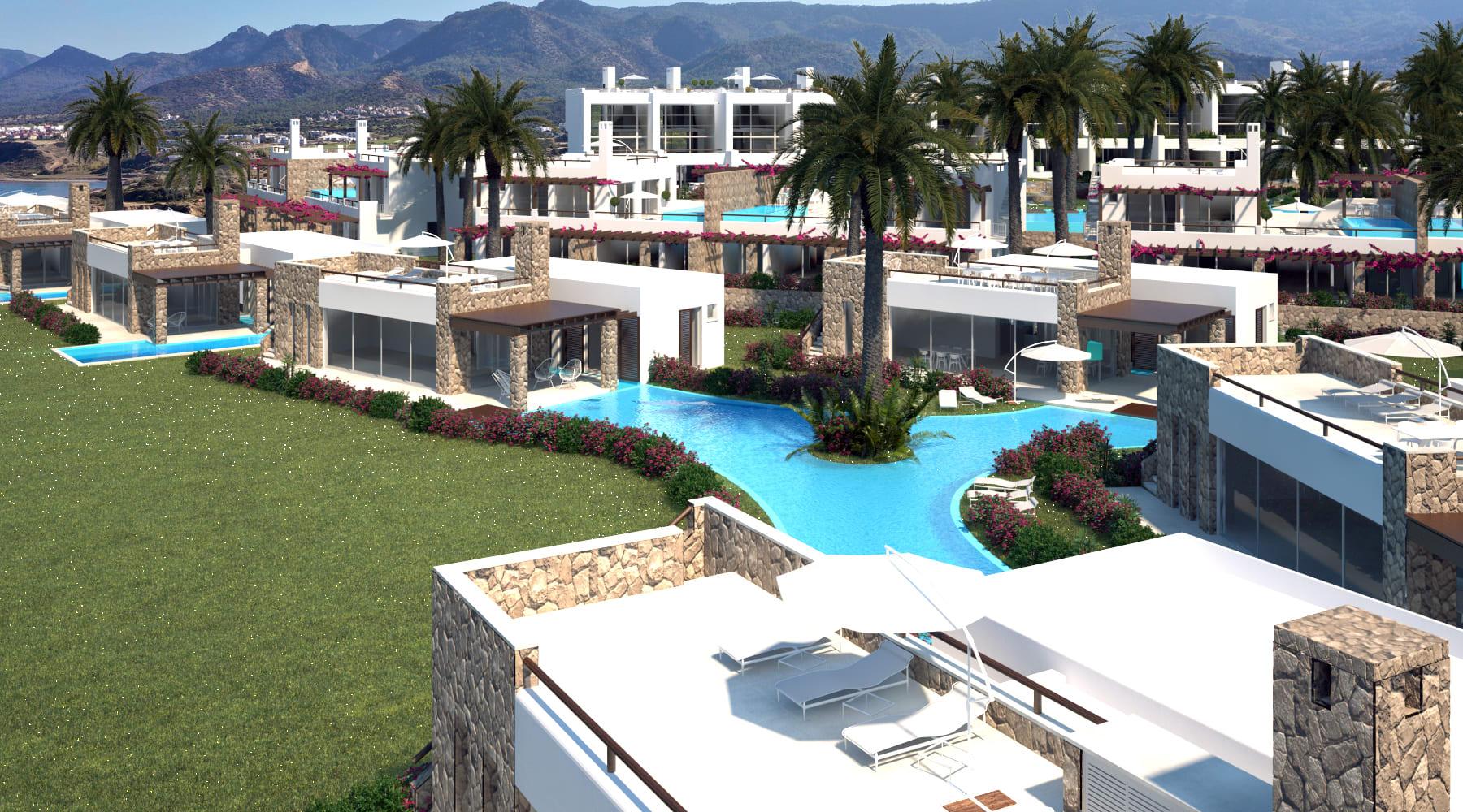 Esentepe'de Marina Üzerinde Satılık 3+1 ve Özel Havuzlu Villalar 8447