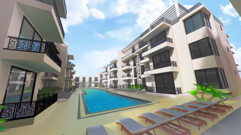 Long Beach Iskele'de Satılık 3+1 Penthouselar 8884
