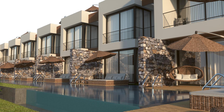 3 Yatak Odalı Satılık Esentepe'de Manzaralı Bungalow 8926
