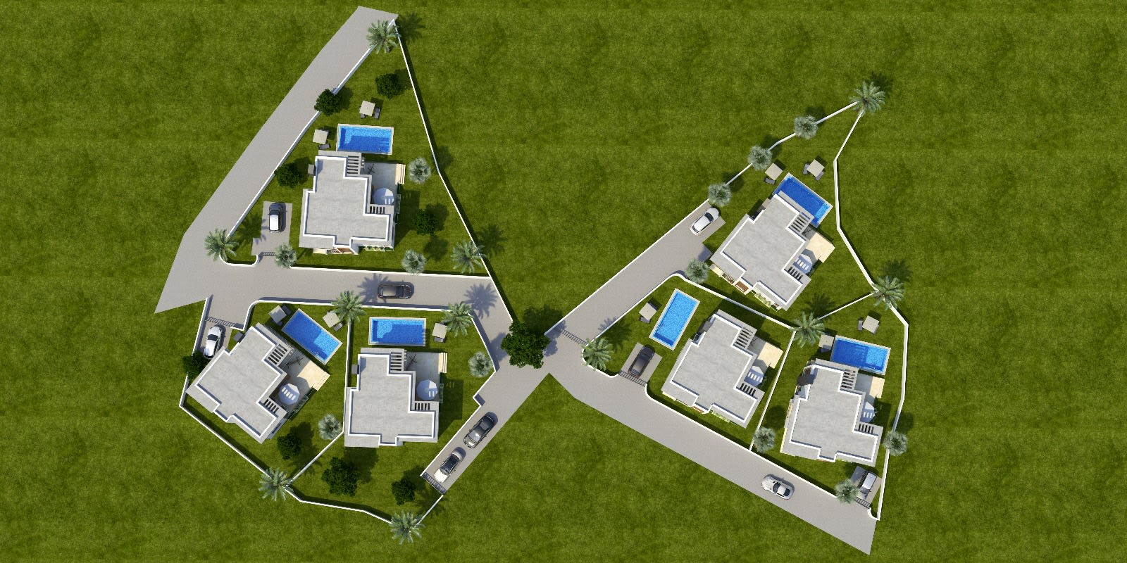 Karmi'de Satılık Lüks 4 Yatak Odalı Villa Projesi 9307