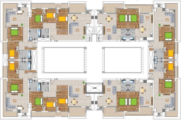Girne (Merkez) Satılık Apartman Dairesi 1+1 9326