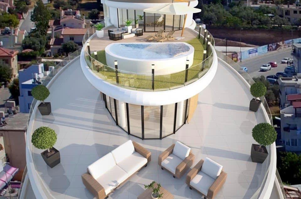 Girne (Merkez) Satılık Apartman Dairesi 2+1 9372