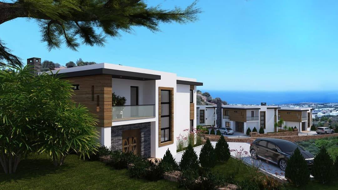 Karmi'de Satılık Lüks 4 Yatak Odalı Villa Projesi 9445