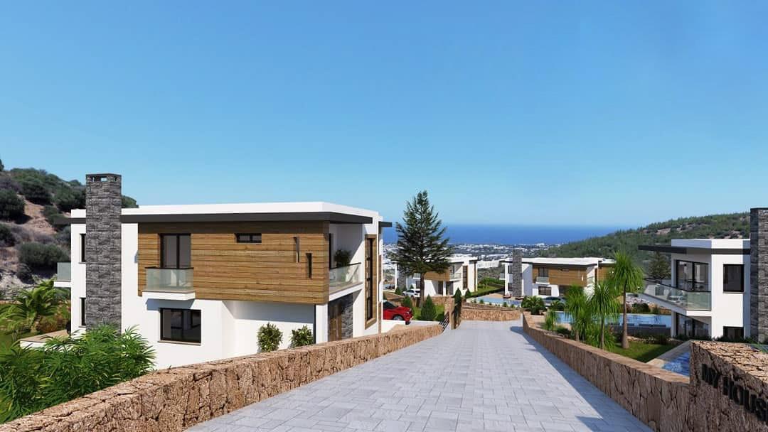 Karmi'de Satılık Lüks 4 Yatak Odalı Villa Projesi 9448