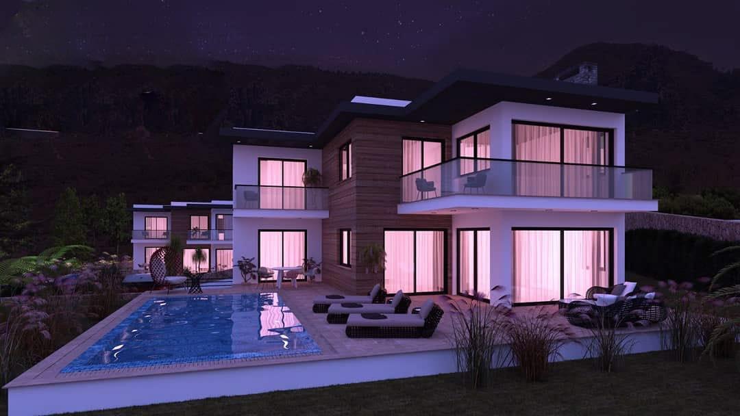 Karmi'de Satılık Lüks 4 Yatak Odalı Villa Projesi 9450