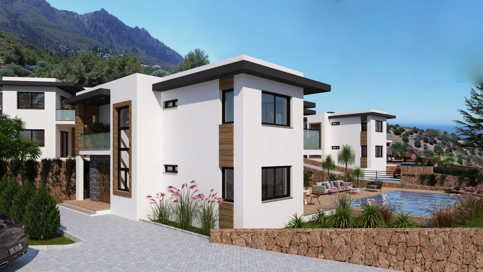 Karmi'de Satılık Lüks 4 Yatak Odalı Villa Projesi 9452