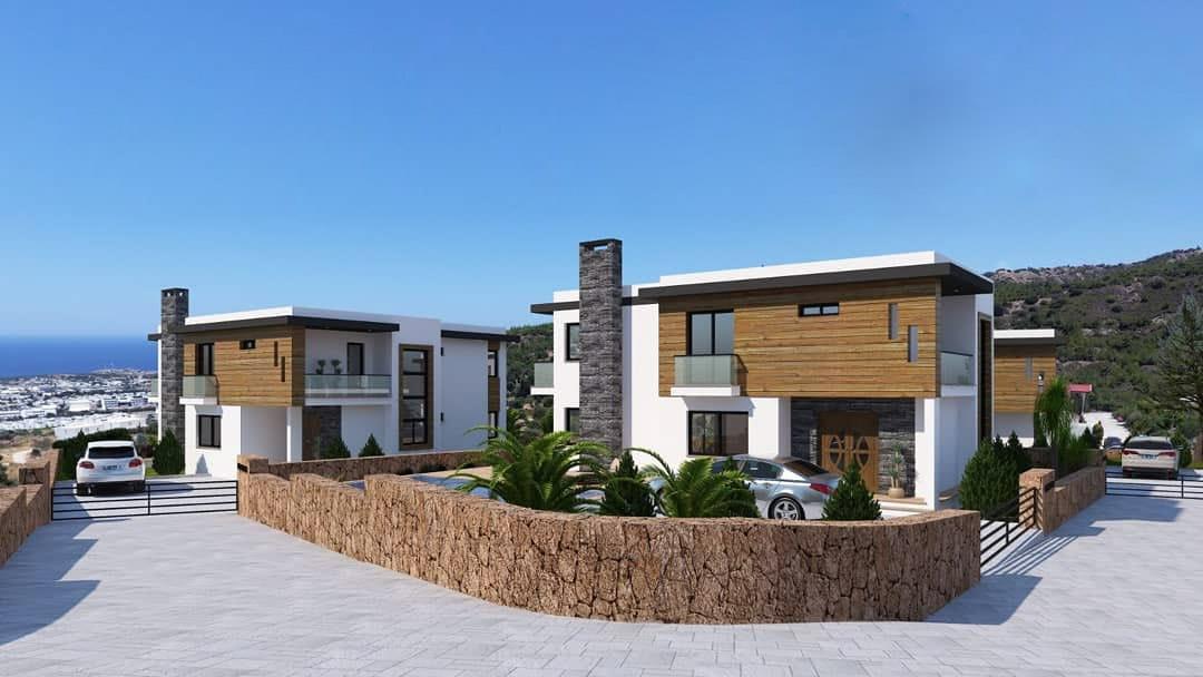 Karmi'de Satılık Lüks 4 Yatak Odalı Villa Projesi 9453