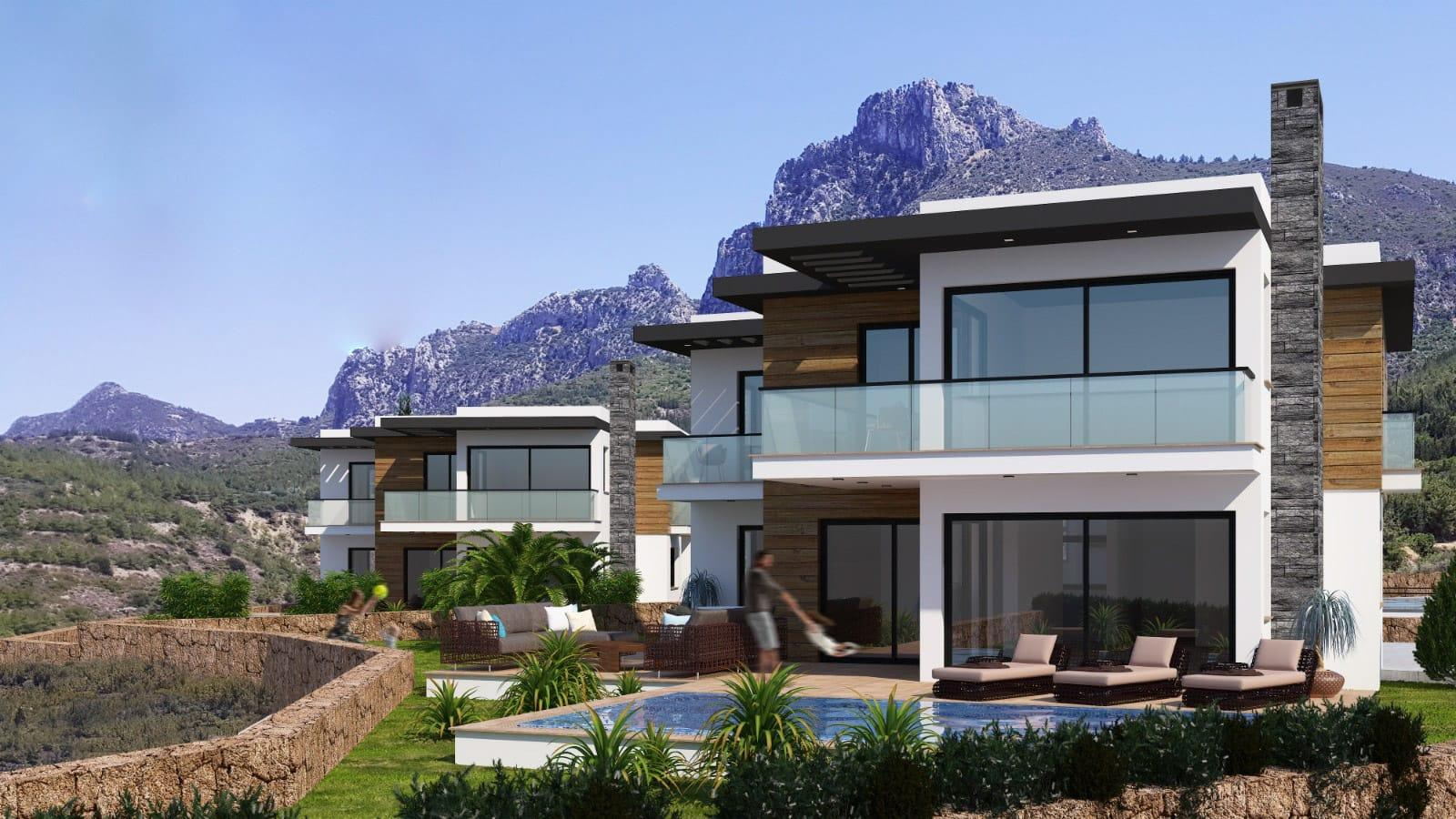 Karmi'de Satılık Lüks 4 Yatak Odalı Villa Projesi 9454