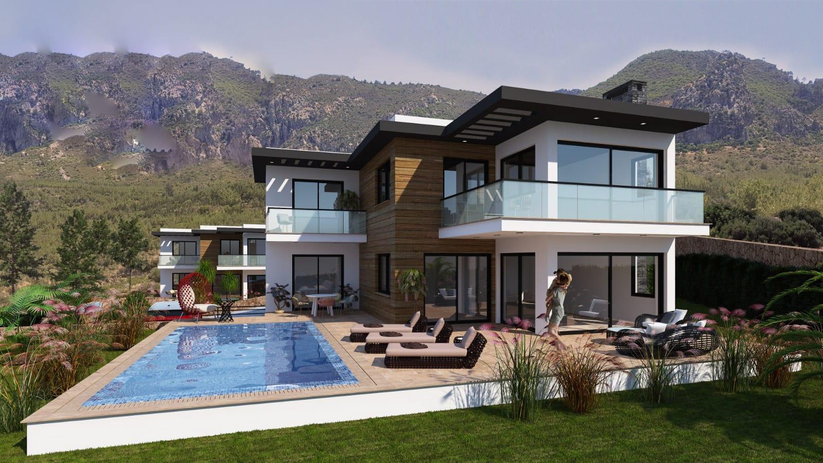Karmi'de Satılık Lüks 4 Yatak Odalı Villa Projesi 9455